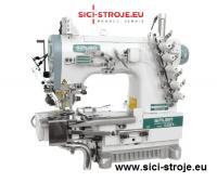 Šicí stroj Coverlock SIRUBA C007JD-W812-364/CRL/UTP/CL/RL ořez, odstřih, odtah ( kpl )