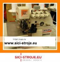 Šicí stroj, overlock SIRUBA 757DFT-516H4-56 5-nitný overlock, horní podávání 5+6m ( kpl )