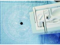 Pravítko na šití a vyšívání přesných kružnic pro šicí stroje JANOME 6600