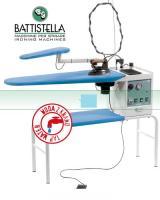 BATTISTELLA VULCANO MAXI-Žehlící prkno Battistella Vulcano Maxi s vyvíječem a žehličkou