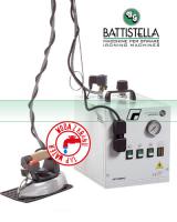 BATTISTELLA SATURNINO-Parní vyvíječ se žehličkou - parní stanice