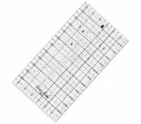 Rastrové pravítko pro patchwork 16x32 cm
